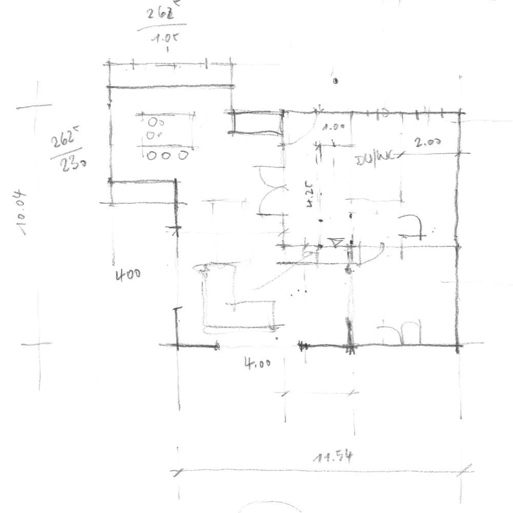 vom Grobentwurf zum Grundrissplan - 3