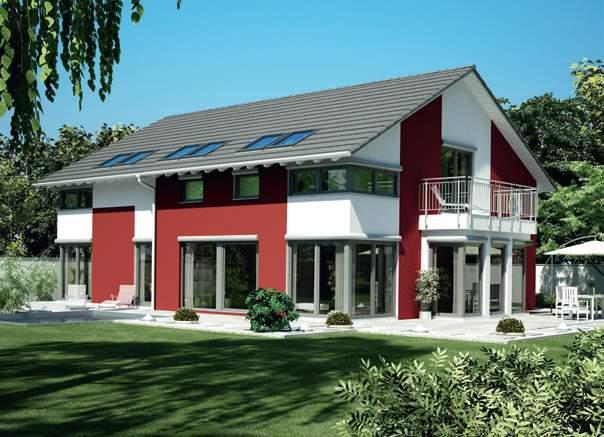 Okal Fertighaus Gebäudetypen Familienhaus Plus